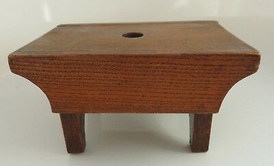 Antique Miniature Wooden Stool - Plant Stand