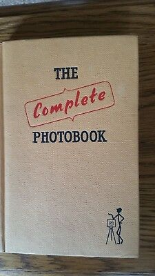 Vintage 1955 The Complete Photo Book By Philip Johnson Hardback