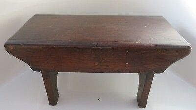Antique Small/ Child's Wooden Stool - Plant Stand