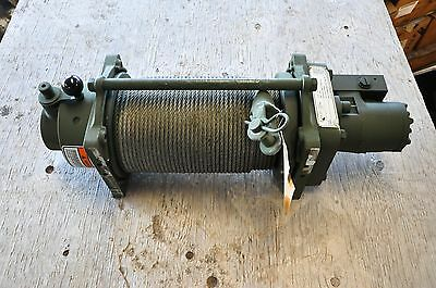 NEW-DP Manuf.52060 Hyd.Winch 18000 lb Capacity 300 feet 5/16 Inch Cable Included
