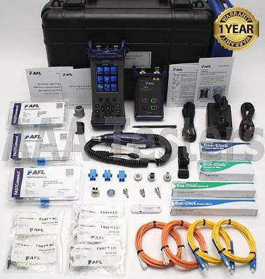 AFL NOYES M210E Quad SM MM Fiber OTDR Certification Kit M210E-25K-01-HC2 M210