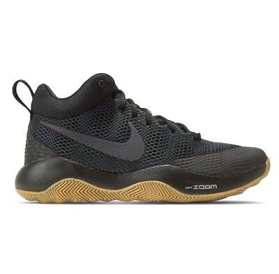 new products 83905 96e22 Nike Zoom Rev Basketball Shoes Antracite Black Gum Men s Size 8.5 (852422- 010