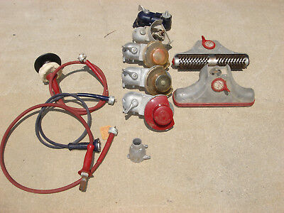 Lot of Vintage Kirby Vacuum Parts and Accessories Handi Butler Flex shafts heads