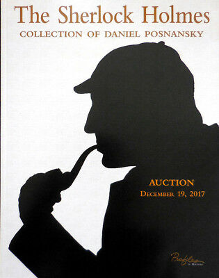 The Sherlock Holmes Collection Auction Profiles in History Catalog Book