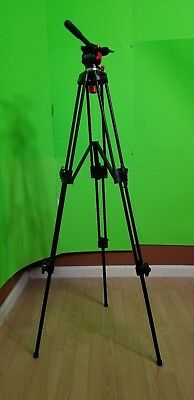 DRACAST Tripod with Fluid Pan Head for Camera and Camcorder Photography