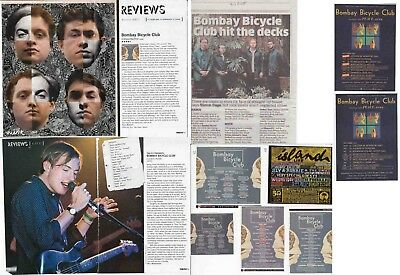 BOMBAY BICYCLE CLUB : CUTTINGS COLLECTION -adverts-