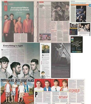 EVERYTHING EVERYTHING : CUTTINGS COLLECTION -interviews-
