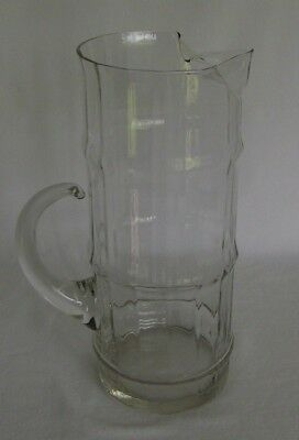 Bamboo Glass Martini Pitcher by West Virginia Glass
