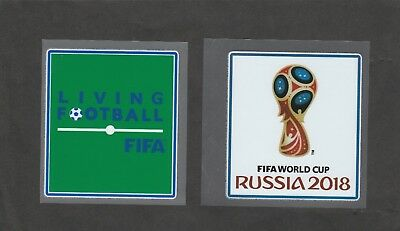 Patch PVC Football Coupe du monde / World Cup 2018 / living football