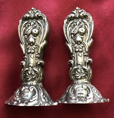 FRANCIS I - Reed & Barton STERLING SILVER Salt & Pepper Shakers