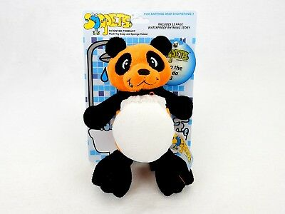 Soapets Plush Bathing Toy ~ Fun Colorful Characters To Wash Kids Clean ~ #3 Bobo
