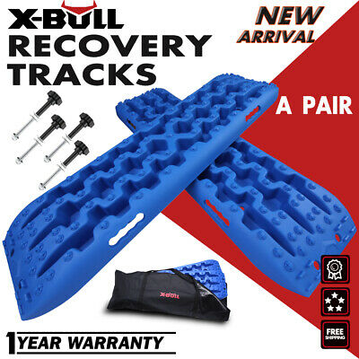 X-BULL Recovery Tracks Sand Traction Off Road Snow Track Tire Ladder Green 4WD