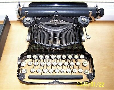 Antique Portable Corona Typewriter & Case 32 Keys + Space Bar Books Tools 1920s