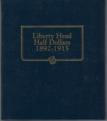 13 Liberty Head Half Dollars Circulated In A Slightly Used Whitman Classic Album