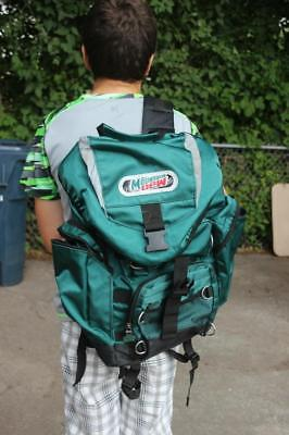 Mountain Dew Backpack 1990s promo Soda Advertising item Hiking School