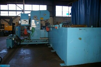 "DoAll Plate Saw. 25"" Vertical Bandsaw Model-2608NC. 50"" Plate Width x 13' Length"