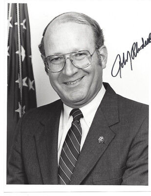 ARIZONA Congressman JOHN RHODES III 8 X 10 Autographed PHOTO and Signed Letter
