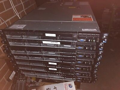 HP DL360 G7 1 x Xeon 6 Core 2.4Ghz E5645 6GB Ram 2x PSU.