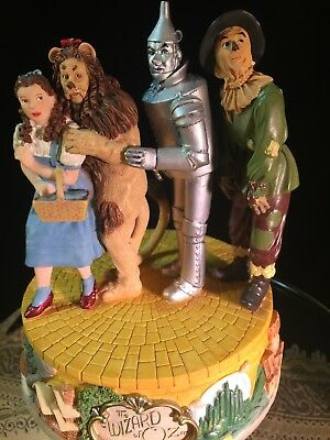 Wizard of Oz Characters Musical Figurine by San Francisco Music Box Company EUC