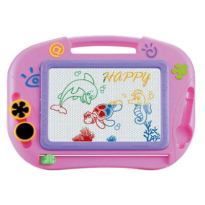 Kids Multifunction Colorful Educational Magnetic Writting Drawing Board Pad Gift