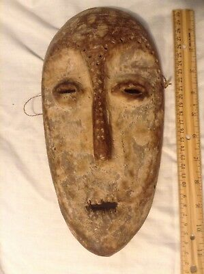 Antique Lega Wood Mask Congo Bwami Society Masks