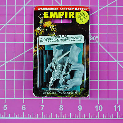 Warhammer Empire Mounted Bright Wizard NIB Metal - OOP - Games Workshop Citadel