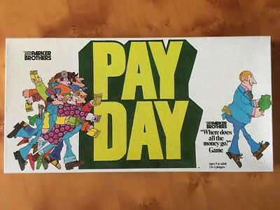 PAY DAY Vintage Board Game Complete, Excellent Cond. - Parker Brothers Australia