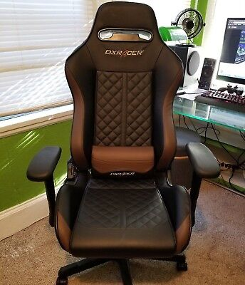 DXRacer Drifting Series Gaming Office Chair & Cushions Black & Coffee OH/DF73/NC