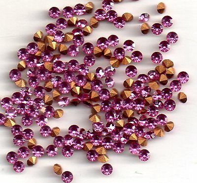 50 Strass Rond Pp21 - 2.7 Mm - Rose