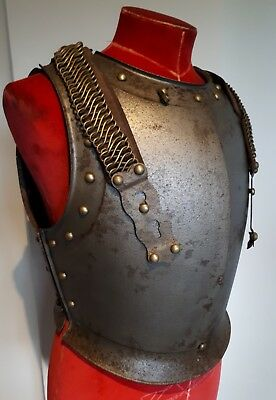 Fantastic Victorian 19thC Armour French Curiassiers 1855 Breastplate Uniform