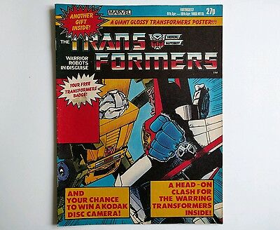 Transformers comic UK issue 15 Marvel 1985 G1