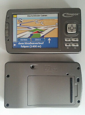 Typhoon MyGuide 7000 XL Navi Dummy Attrappe - Requisit, Deko, Werbung