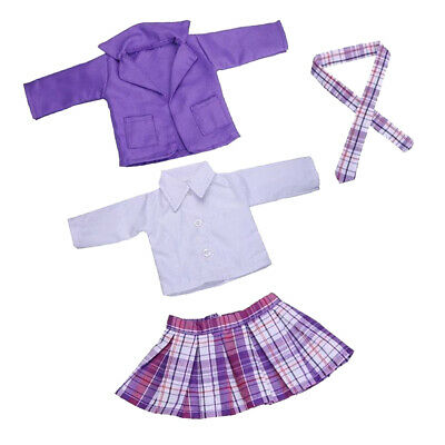 New Style 18 Inch Doll Outfits Working Uniform For Our Generation Dolls
