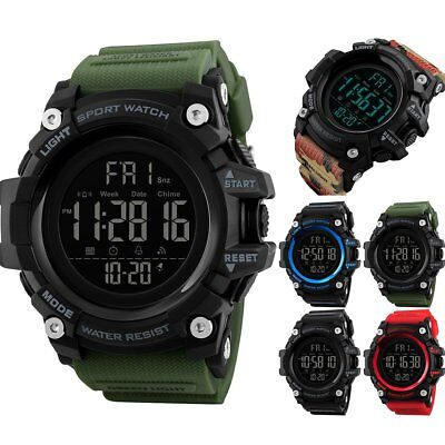 SKMEI Fashion Men's Sports Watch LED Digital Military Wrist Watch Waterproof
