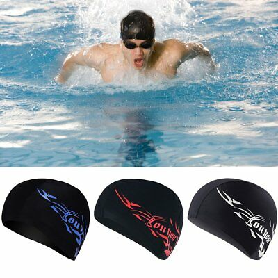 Unisex Mens Women Adult Swim Cap Spandex Stretch Swimming Hat Bathing Hat Cap