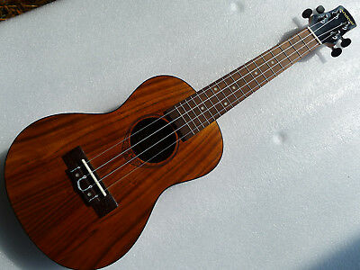 "Andoer 24"" Koa Ukulele Small Hawaiian Guitar"