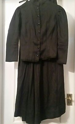Fantastic Theatrical Style Victorian walking suit Costume,Top Item!