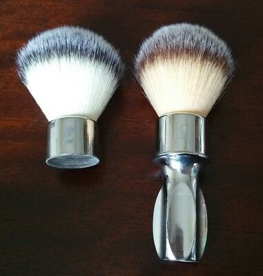 Crown King Switchback 400 dual head synthetic shaving brush
