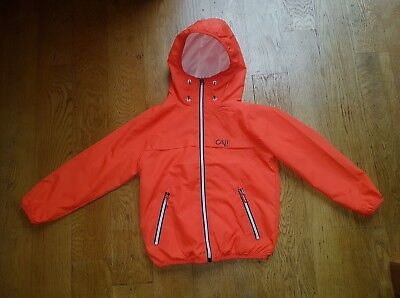 boys orange coat from next.age 5 year's.brand new with tags.