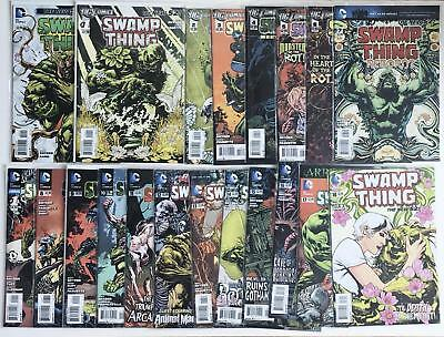 Swamp Thing (New 52) #0, 1-18, Annual 1, Scott Snyder run, Set of 20 comics
