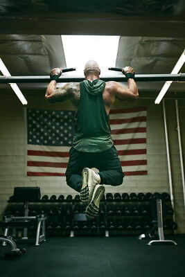 """134 Dwayne Johnson - The Rock Fast Furious Muscle Strong USA Star 24""""x36"""" Poster"""