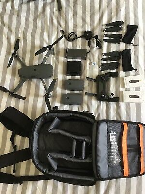 dji mavic pro fly more combo with extras Very good condition