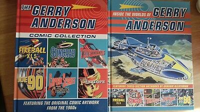 The Gerry Anderson Comic Collection & Inside the Worlds of Gerry Anderson