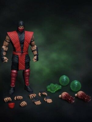 Mortal Kombat Ermac Figure SDCC 2018 Exclusive Storm Collectibles Bluefin