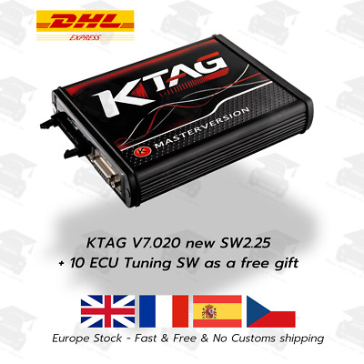 KTAG Firmware V7.020 Software V2.23 ECU Programming Tool Master +Unlimited Token