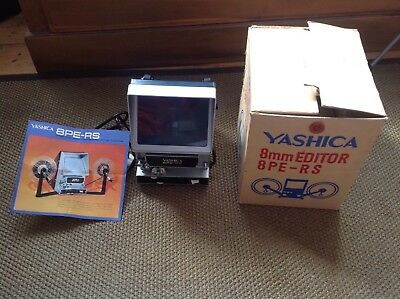 Yashica 8mm Editor 8pe-rs - Boxed with Instructions -