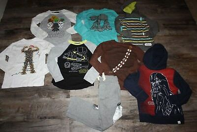 Huge Gap Gymboree Star Wars Lot Size 5/6 Shirt Sweatpants Hoodie Sweatshirt
