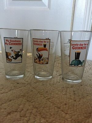 guinness vintage Glass Pint