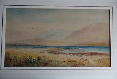 Kenmore Bay, Kerry, Irish WC Landscape by Alexander Williams RHA. Listed. 1 of 2