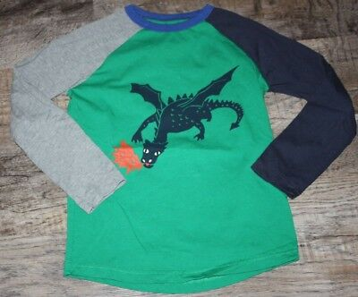 Mini Boden Dragon Shirt Size 6/7